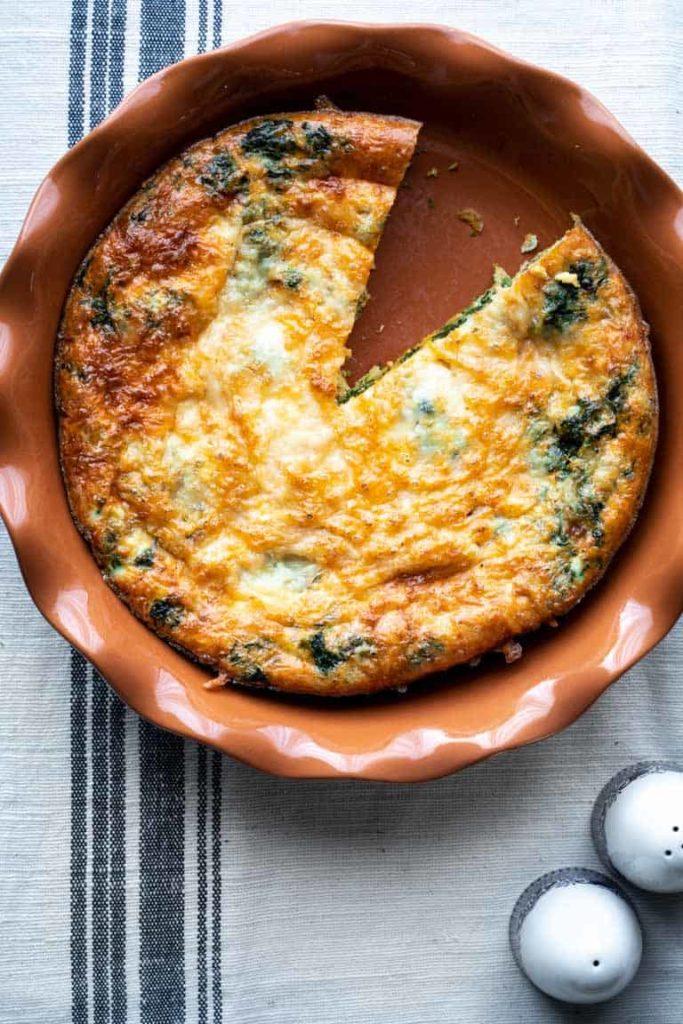 Easy Egg White Bake