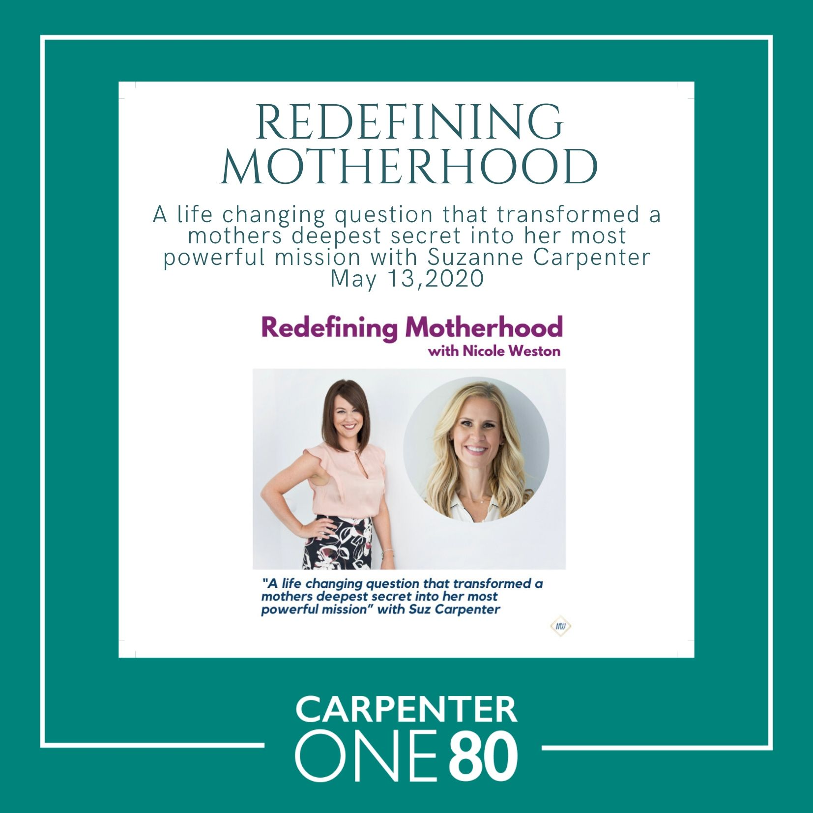 Redefining Motherhood tile